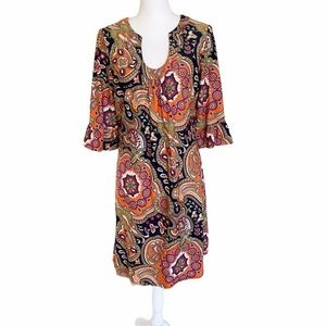Jude Connally Nancy Paisley Tunic JudeCloth Dress
